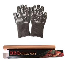 O-Yaki Barbecue Grill Gloves and Non-Stick Grill Mat Giveaway