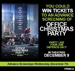 OFFICE CHRISTMAS PARTY movie cover