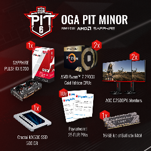 OGA PIT Rainbow Six Minor Giveaway