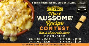 Old Croc Most Aussome Recipe Contest