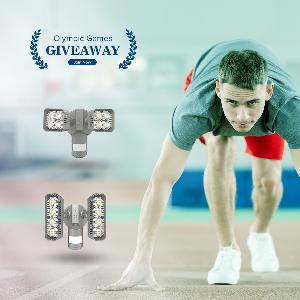 Olympic Games Giveaway - Win $200 Amazon Home Security Lights