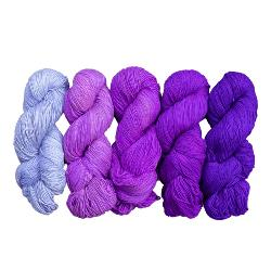 Ombre Sport Weight Silk Yarn Exploration Pack Giveaway