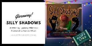 One (1) grand prize winner receives:A copy of Silly Shadows, autographed by Lyndsay Whitlock & A $50 Barnes & Noble gift card!! & Four (4) winners receive:A copy of Silly Shadows, autographed by Lyndsay Whitlock!!