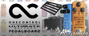 One Control/Ultimate Support Pedalboard Giveaway