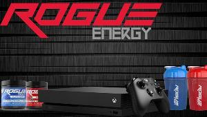 One Grand Prize Winner will receive a Xbox1x Console and a Green Slime ROGUE ENERGY Starter Kit!  Runner-Up Prize #1 Fire ROGUE ENERGY Starter Kit.  Runner-Up Prize #2 Ice ROGUE ENERGY Starter Kit.