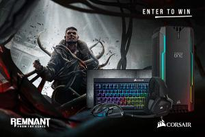 One GRAND PRIZE winner will receive the following:  ONE PC game code for Remnant: From the Ashes ;A CORSAIR ONE i140 fully built PC; A full set of CORSAIR peripherals