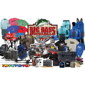 One Grand Prize winner will receive this bonanza of fishing gear and accessories valued at over $6,500!