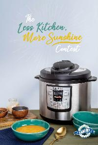 One Instant Pot IP-LUX60V3 6-quart pressure cooker""