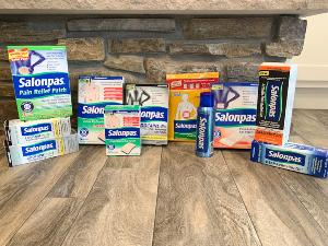 One lucky Emily Reviews winner will receive the Salonpas Line Of Topical OTC Pain Relief Products, valued at over $150!