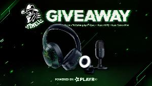 ONE LUCKY WINNER TO RECEIVE: Razer x A Bathing Ape Opus Headphones, Razer Kiyo - Streaming Camera with Ring Light & Razer Seiren Mini Microphone - Black!!