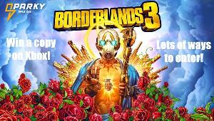 ONE LUCKY WINNER WILL RECEIVE  1 digital copy of Borderlands 3 on Xbox
