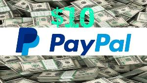 ONE LUCKY WINNER WILL RECEIVE..1x - $10.00 Giveaway via PayPal