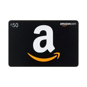 ONE LUCKY WINNER WILL RECEIVE..1x $50 Amazon Gift Card