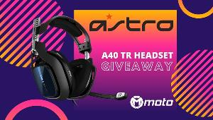 ONE LUCKY WINNER WILL RECEIVE  1x ASTRO Gaming A40 TR Headset!!