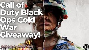 ONE LUCKY WINNER WILL RECEIVE..1x Call of Duty Black Ops: Cold War Ultimate Edition!