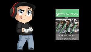 ONE LUCKY WINNER WILL RECEIVE..1x code for 3 Month Xbox Game Pass Ultimate