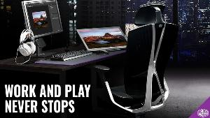 ONE LUCKY WINNER WILL RECEIVE.. 1x Ergo L Gaming Chair worth £599.00