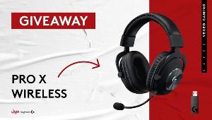 ONE LUCKY WINNER WILL RECEIVE..1x Logitech's new Pro X Wireless headset!!