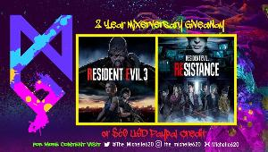 ONE LUCKY WINNER WILL RECEIVE...  1x Resident Evil 3 Remake Game on the platform of your choice.