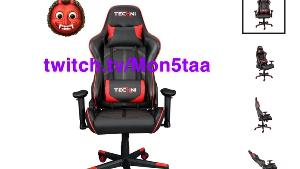 ONE LUCKY WINNER WILL RECEIVE.. 1x Technisport TS49 gaming chair!