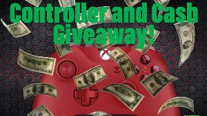 ONE LUCKY WINNER WILL RECEIVE..1x Xbox Controller or Cash Value via PayPal & 1x $50.00 Via PayPal!!