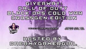 ONE LUCKY WINNER WILL RECEIVE..  $70 Paypal, XBOX card, PSN funds, or Steam giftcard towards Call of Duty Black Ops Cold War Cross-Gen Edition!