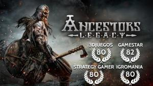 """One lucky winner will receive a """"very positive"""" rated steam game Ancestors Legacy."""