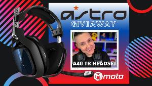 ONE LUCKY WINNER WILL RECEIVE AN ASTRO GAMING A40 TR HEADSET!