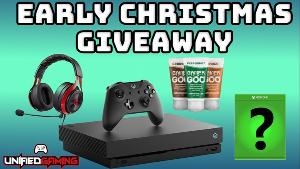 ONE LUCKY WINNER WILL RECEIVE..an Xbox 1 X , a Gamergoo Trio pack, A Lucidsoound LS25 Headset, and a Xbox game of their choice ( $60 value)