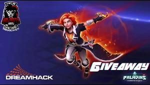 ONE LUCKY WINNER WILL RECEIVE  Paladins Dreamhack Maeve skin.  Code works on all platforms.