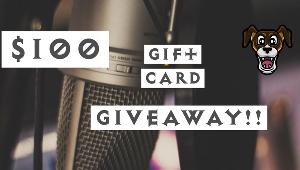 One lucky winner will win a $100 Gift Card of their choice!