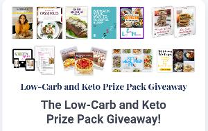One lucky winner will win INCREDIBLE resources that will set them up to have the best experience with following a ketogenic diet ever!!