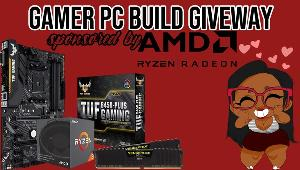 One lucky winner will win:  -Ryzen 3 2200G   -Corsair Vengeance LPX 16GB (2x8GB) DDR4 DRAM 3200MHz & ASUS TUF B450-PLUS Gaming AMD AM4 (3rd/2nd/1st Gen Ryzen ATX Gaming Motherboard!