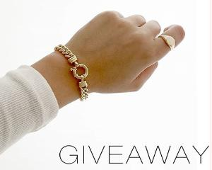 One lucky winner will win two pieces: - The 9ct gold Little Mama bracelet - The 9ct gold Charlie Signet ring