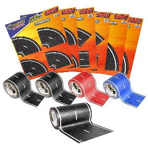 one of two PlayTape Road Rally Road and Curve Assortment Packs