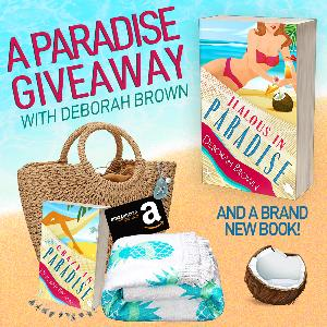 One reader will win a signed paperback,  wine glass charms, a sea glass necklace, a beach towel, a $75 Amazon gift card, and a beach bag to hold it all!