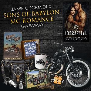 One reader will win an awesome Motorcycle Club Romance prize pack!!