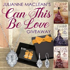 One reader will win earrings, a necklace and an Amazon Gift Card!