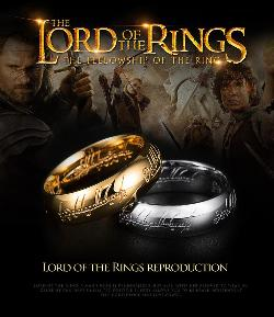 One RING from LOTR ($55)