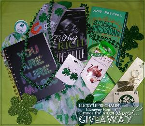 """One Winner: """"Lucky"""" Signed books prize pack"""