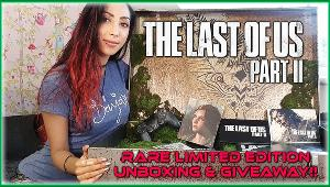"""One Winner Will Receive ...  1x An Official Limited Edition """"The Last Of Us 2"""" Crate, with all the contents as shown on the youtube unboxing"""