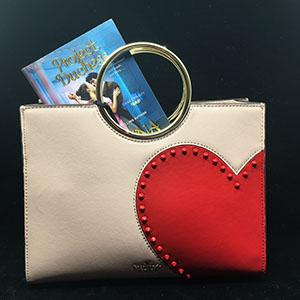 ONE WINNER will receive a KATE SPADE PURSE inspired by love, and a SIGNED COPY OF PROJECT DUCHESS