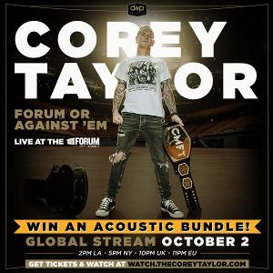 One Winner Will Receive​: ​One (1) virtual ticket to CMFT's global livestream on Oct 2nd; Five (5) guest tickets for the Oct 2nd live stream;One (1) virtual ticket to exclusive acoustic stream +more...