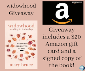 One winner will receive the grand prize package of a $20 Amazon gift card and a signed copy of the book!