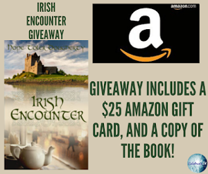 One winner will receive the grand prize package of a $25 Amazon gift card & a copy of the book!