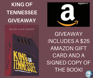 One winner will receive the grand prize package of a $25 Amazon gift card and signed copy of the book!