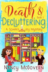 One winner will win a $50 Amazon Gift Card & 3 winners will win a  paperback copy of Death and Decluttering each!