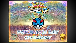One Winner will win a  Pokemon Mystery Dungeon DX (Digital Code) & 2 Winners will win a  Pokemon Sword and Shield Expansion Pass!