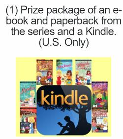 One winner will win a Prize package of an e-book and paperback from the series and a Kindle and 1winner will win a Digital Copy of a Cast Iron Skillet Mystery!