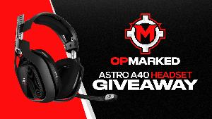 OPMarked ASTRO A40 Headset Giveaway